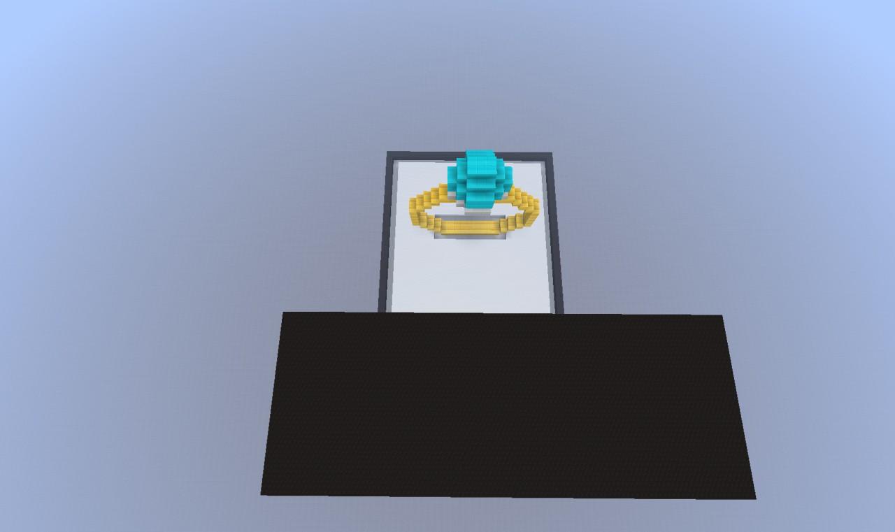 Diamond Wedding Ring Minecraft Project