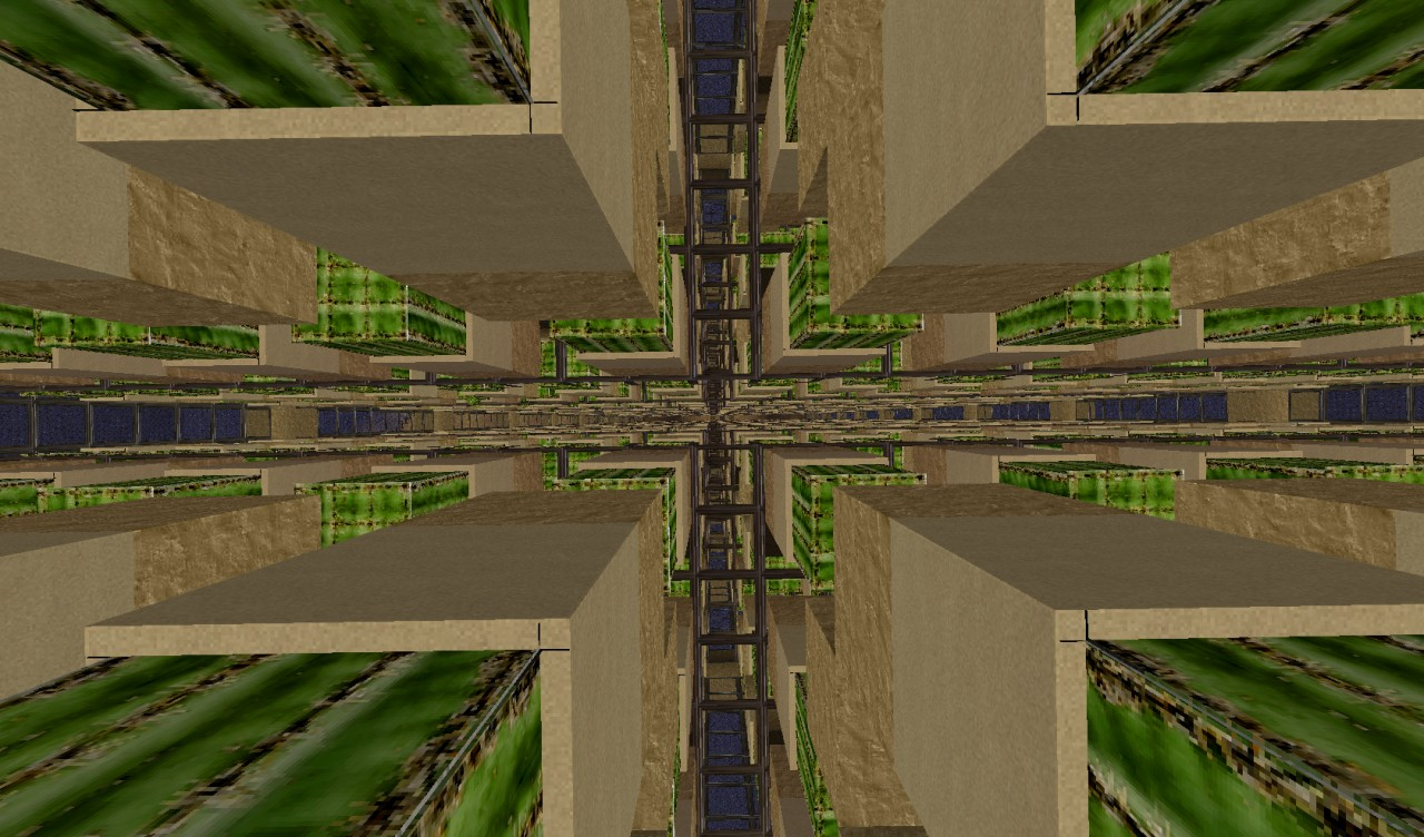 Giant Automatic Cactus Farm V1 Minecraft Project