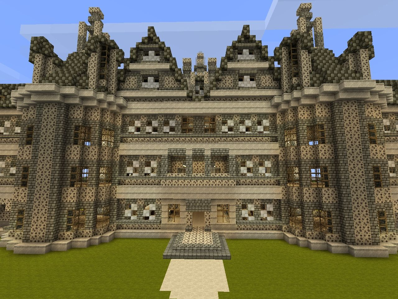 Chateau de chambord castle of cambord minecraft project - Chateau de minecraft ...