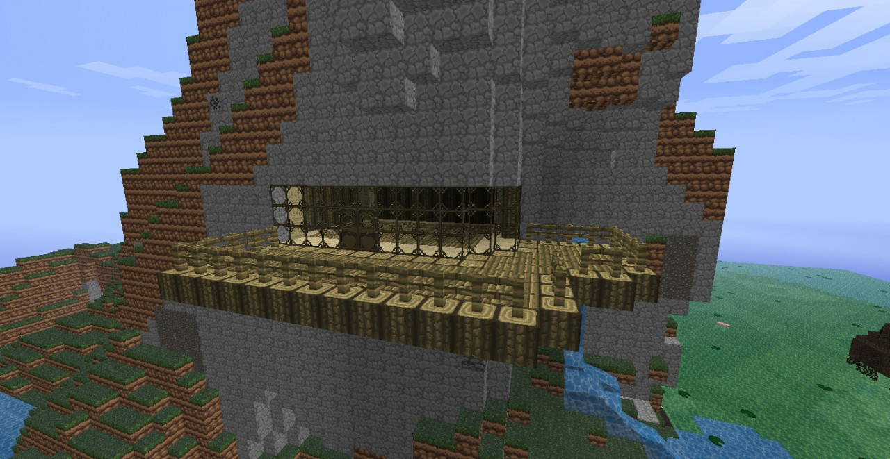 Modern Mountain House My Modern Mountain House Minecraft Project