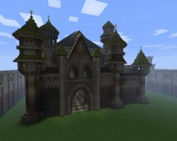 Feast Castle - fantasy castle Minecraft
