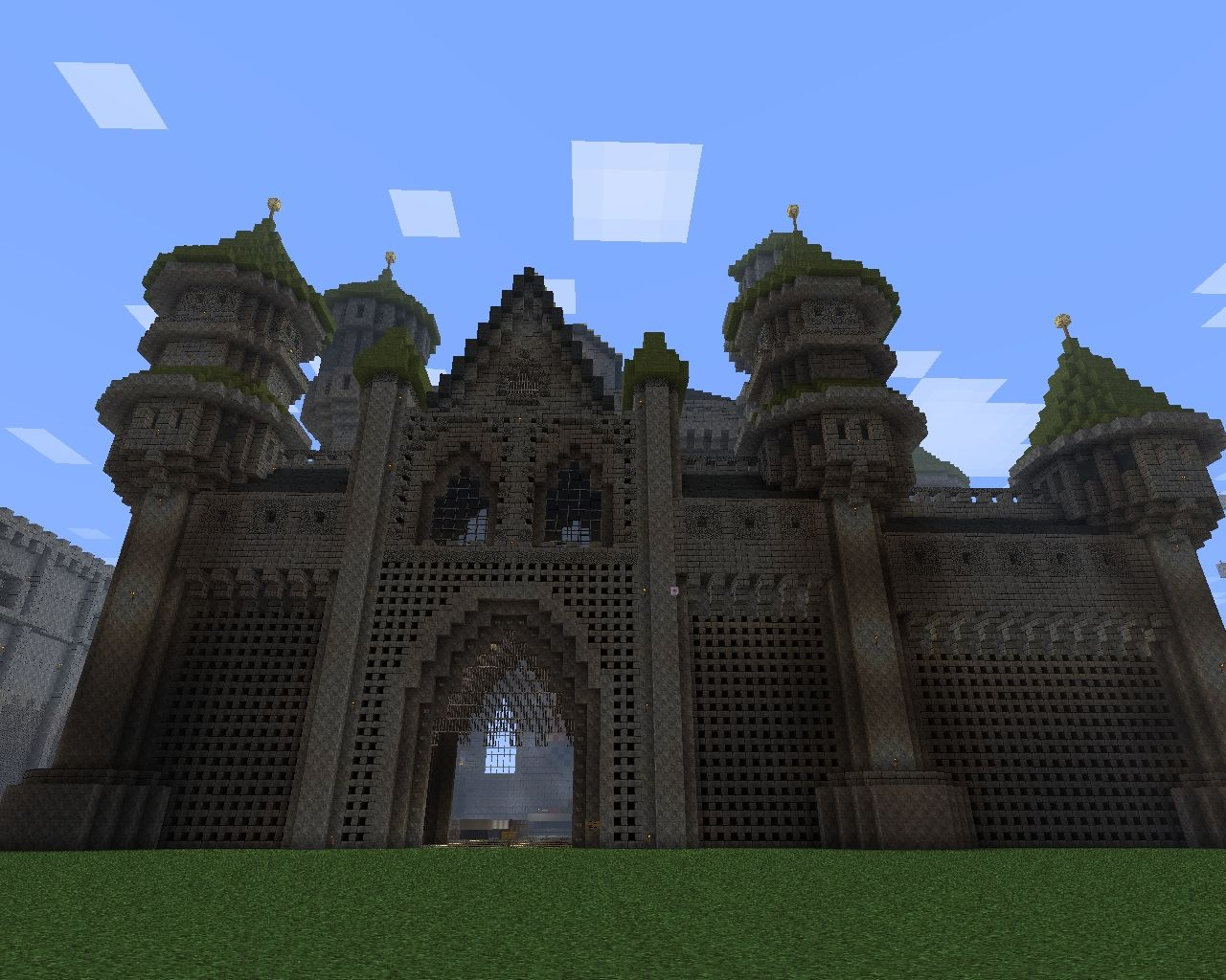 Feast Castle Fantasy Minecraft Project