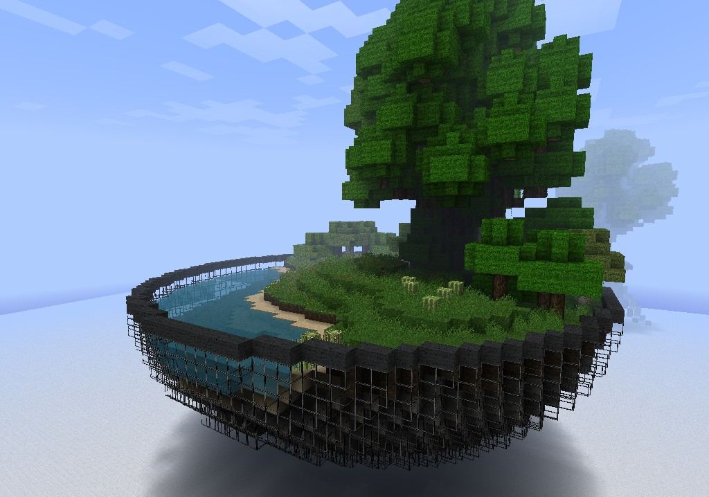 Minecraft World In A Bowl Minecraft Project