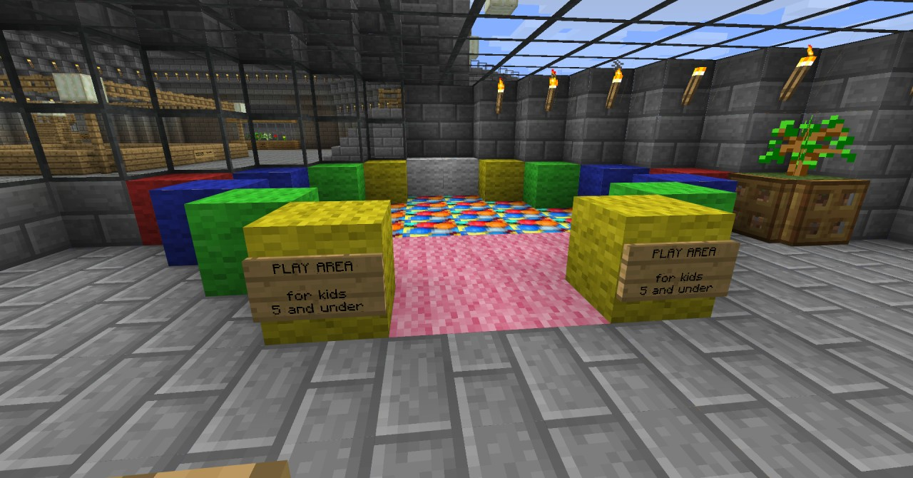 Ball pit in Cafe