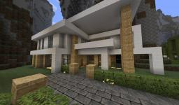 Modern Town - V1.4 Added 6 new houses! Neighborhood! Minecraft Map & Project