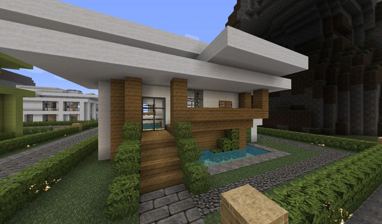 Modern Town - V1.4 Added 6 new houses! Neighborhood ...