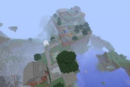 CreeperCraft Village Minecraft Map & Project