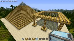 The Golden Pyramid Minecraft Map & Project