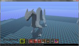 Giant Creature Statue Minecraft
