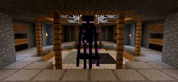 A horrific encounter with a deadly 1.0 Enderman on the last day of this VanillaCraft world. Roll on the reset, and the PVP its bringing!