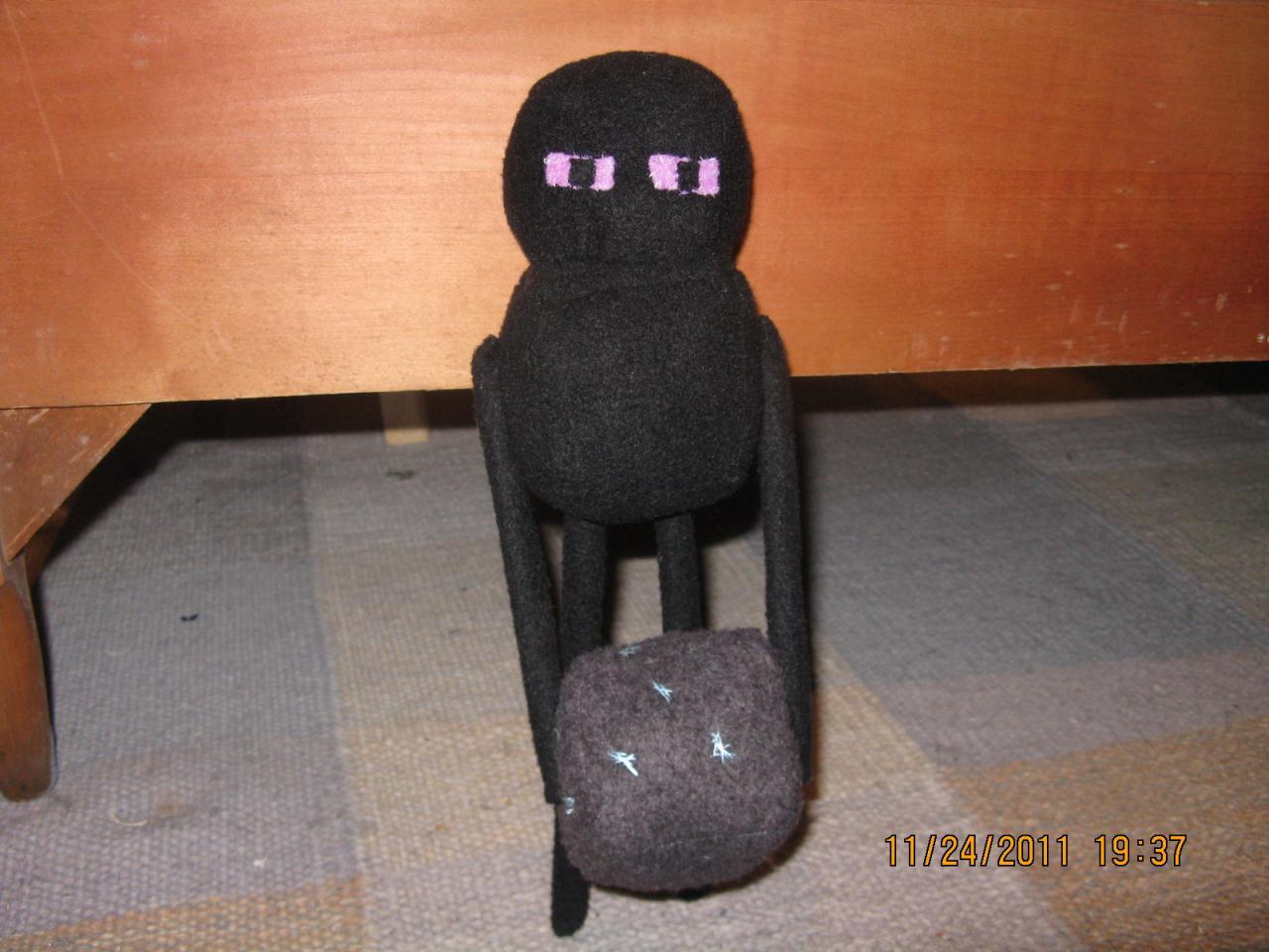 The Epic Enderman Stuffy!!!