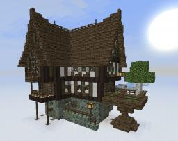 Medieval/Fantasy building bundle - now with MCedit Schematic