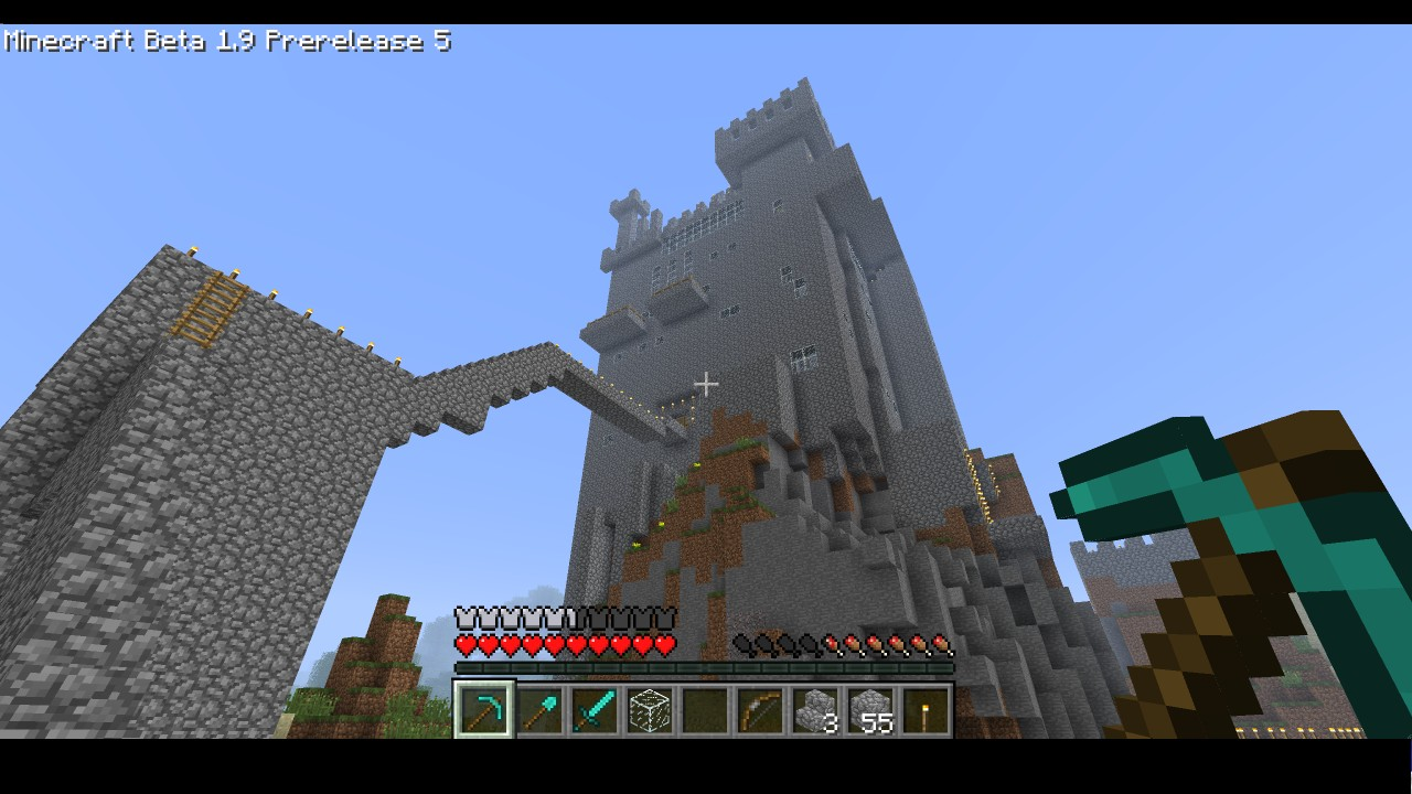 Large Castle Secret Passages Minecraft Project