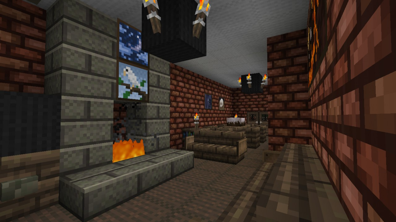 My actual house minecraft project for Dining room minecraft