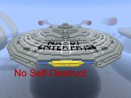 USS Enterprise NX-01 Non-TNT Minecraft
