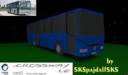Irisbus Crossway LE 100% comlete biggest MC bus + download Minecraft