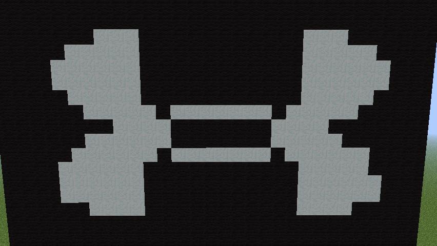 Under Armor Logo Pixel Art Minecraft Project
