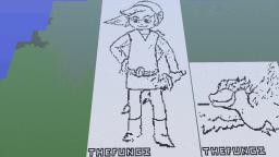 Link from windwaker Minecraft
