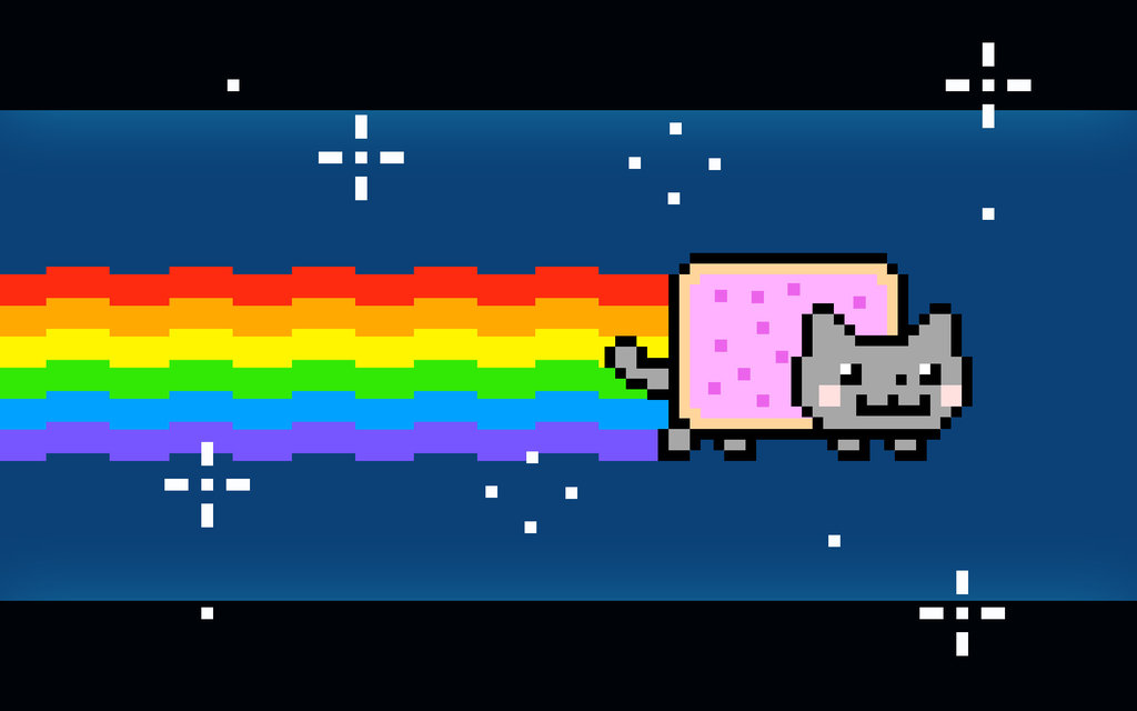the real nyan cat