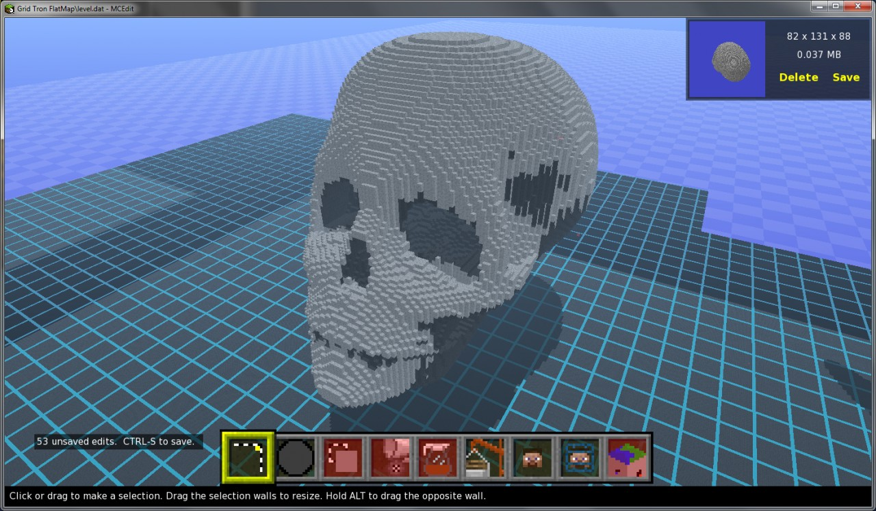Human Skull Minecraft Project Rh Planetminecraft Com Minecraft Skull  Blueprints Minecraft Heads