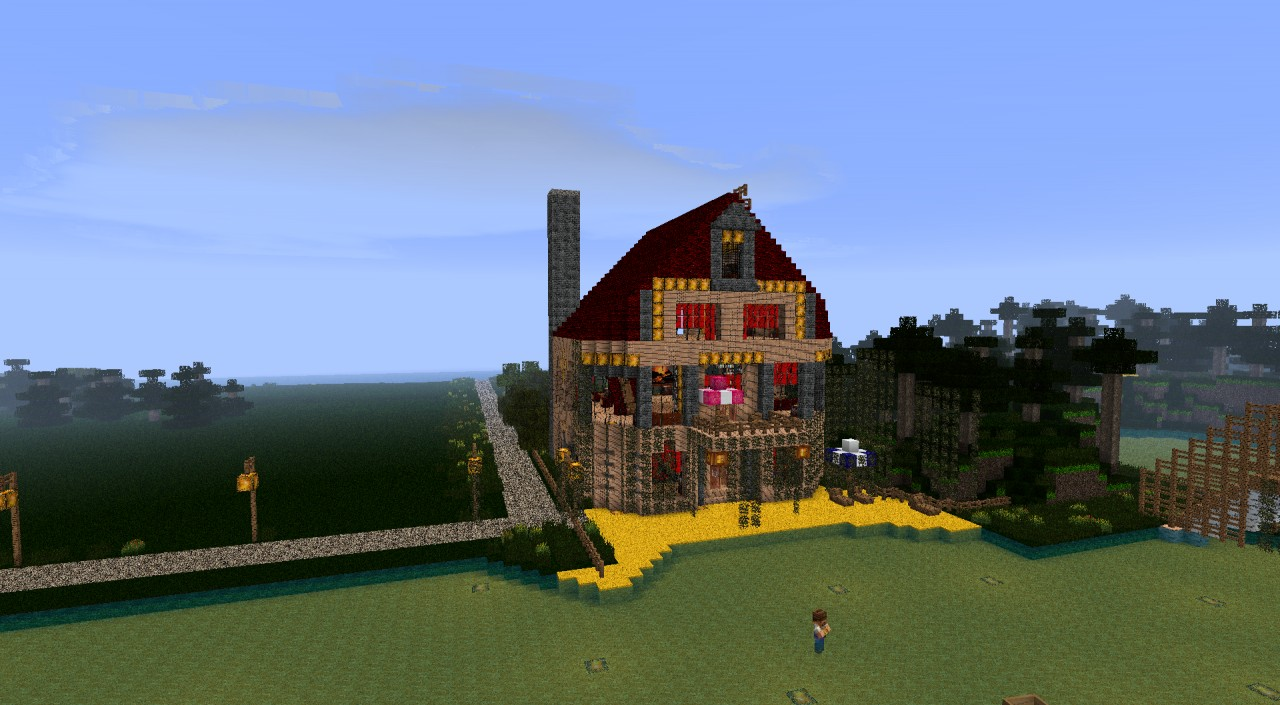 Another Small House Minecraft Project