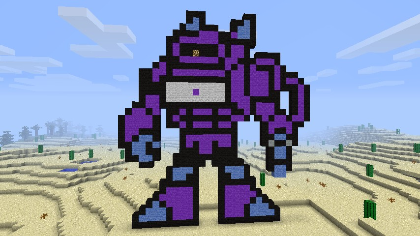 Pixelish Art Minecraft Project