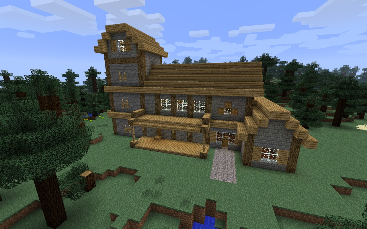 Skyrim cottage house minecraft project for Project house