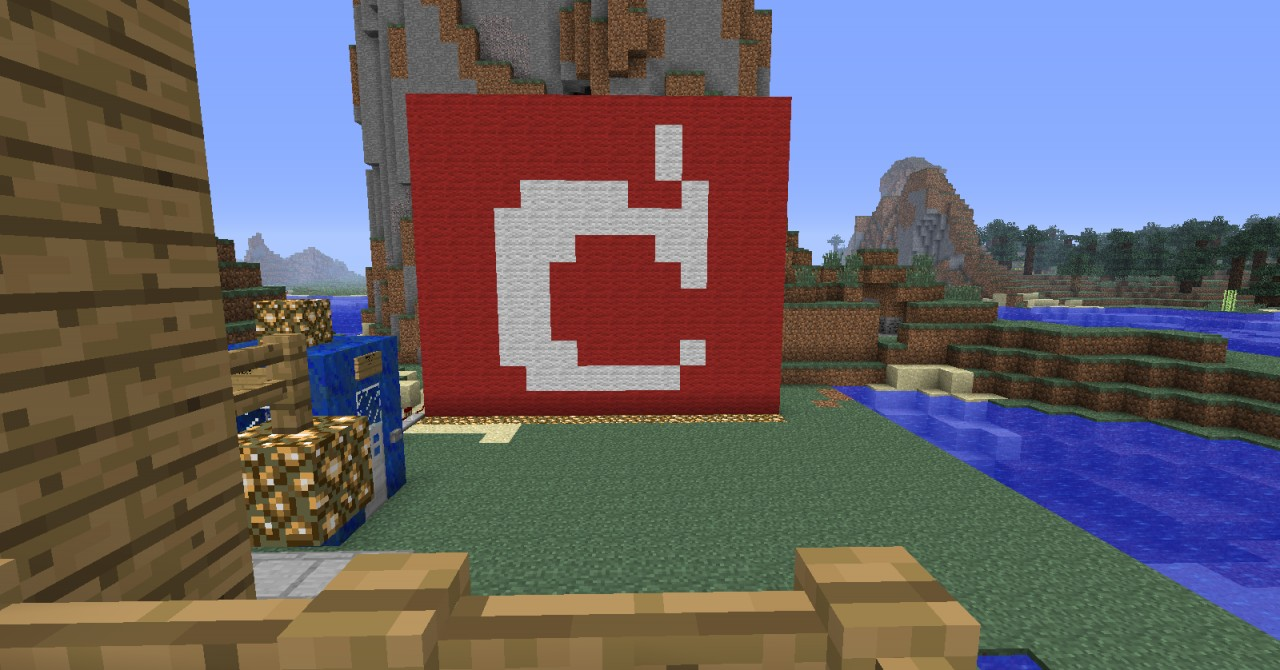 The Simple Mojang Logo Minecraft Project