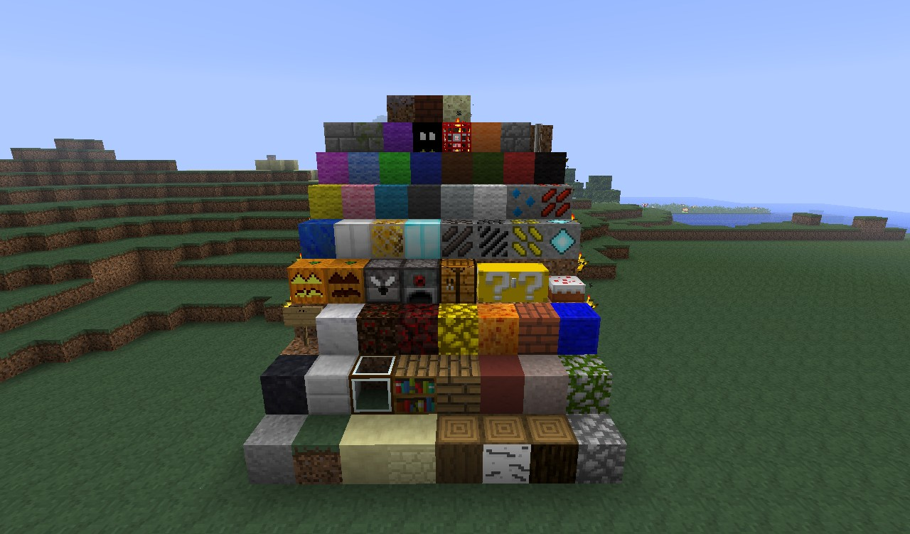 An overview of the blocks 1