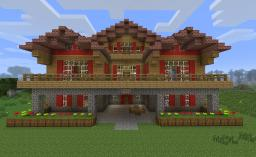 Seven Winters Lodge Minecraft Project