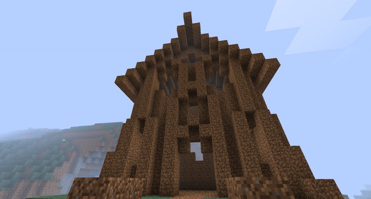Most Epic Dirt House In The World Minecraft Project