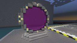 Stargate (nether portal design) Minecraft