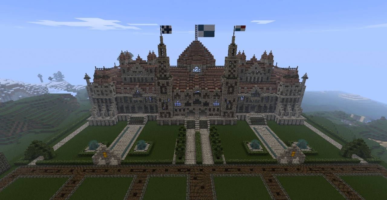Huge Castle Minecraft Project
