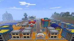 Pokemon Goldenrod City (HG/SS) Minecraft Project