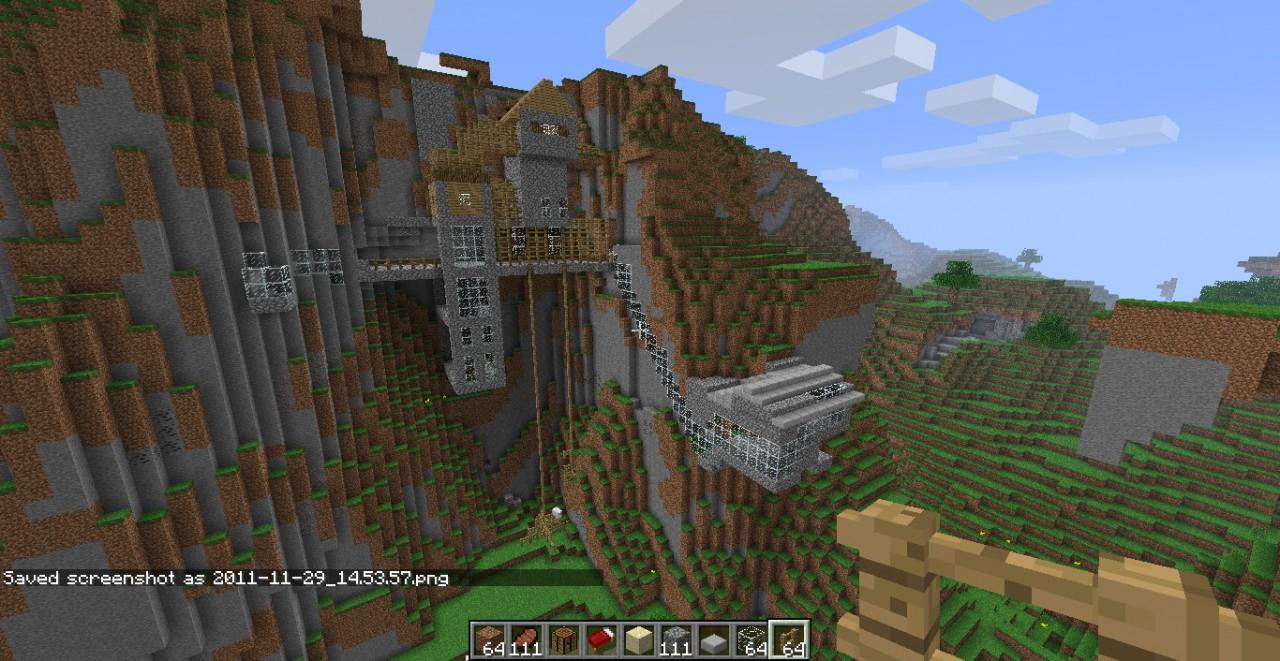 A hill House Minecraft Map