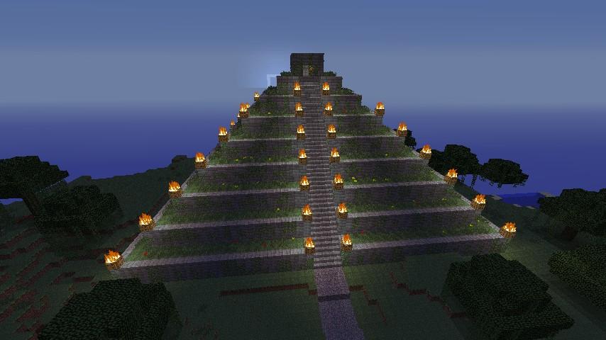 adventuremap the maya temple minecraft project