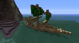 The Sweeping Dart War-Ship Minecraft Map & Project