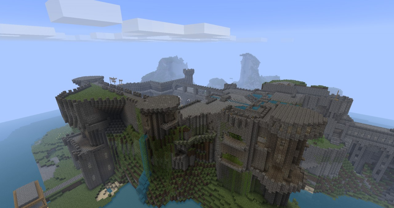 Huge Minecraft Castle  Just Epic    Minecraft Project