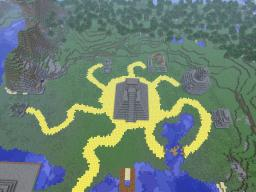 Lost City Of the Maya! Minecraft Map & Project