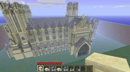 Mega cathedral / church sandstone Minecraft Map & Project