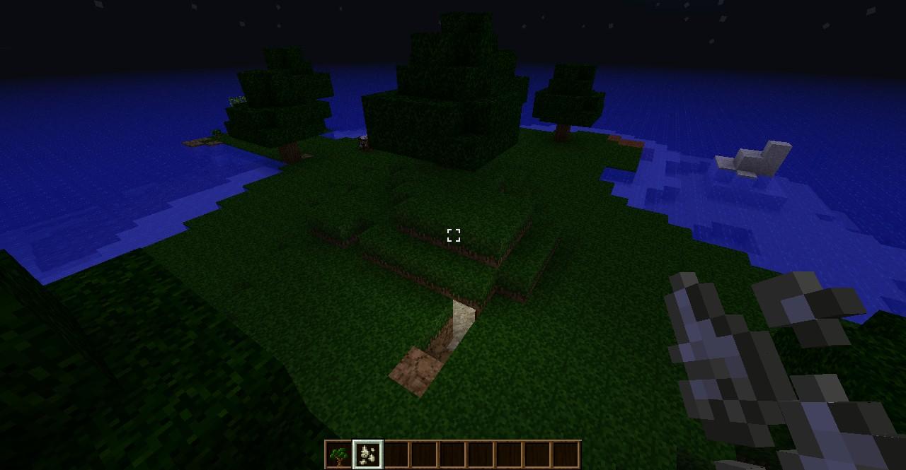 how to get grass to grow underground minecraft