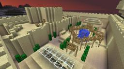 sandstone castle Minecraft Map & Project