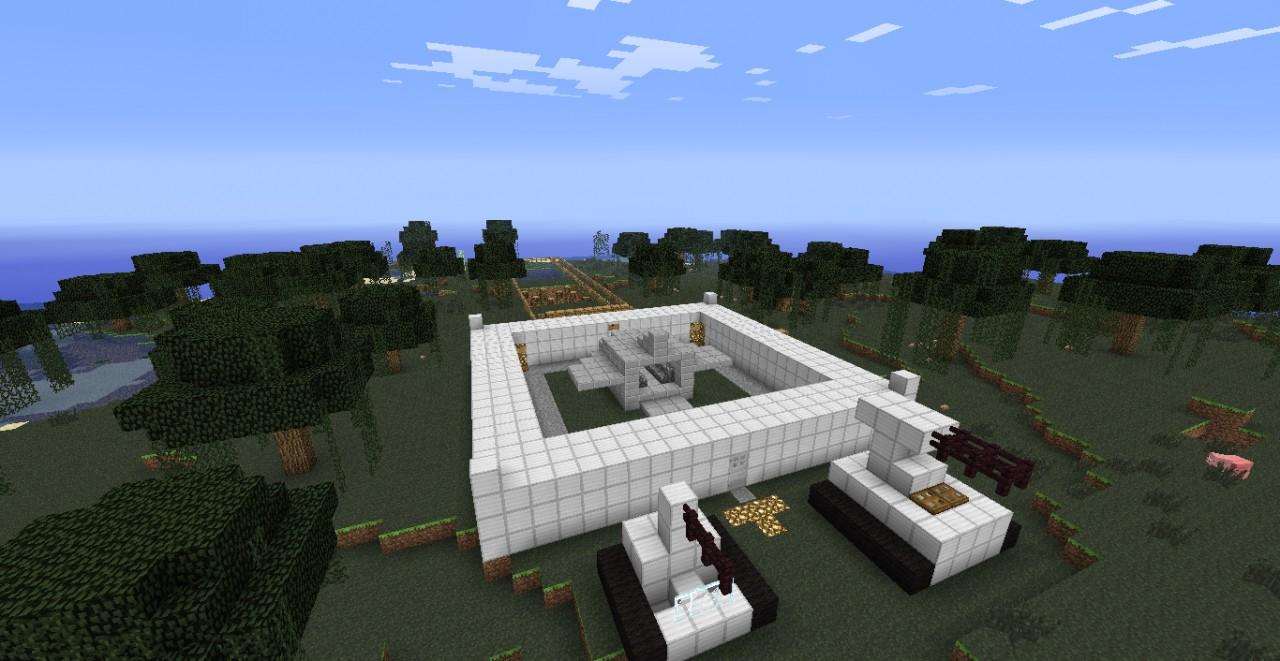 Futuristic Military Base