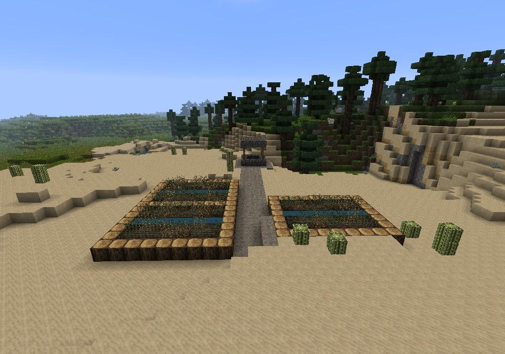 Fail NPC village.