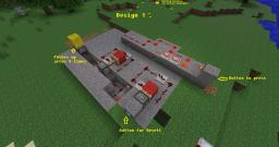 Analoge Redstone counter (acts after 3 times button power) Minecraft Map & Project