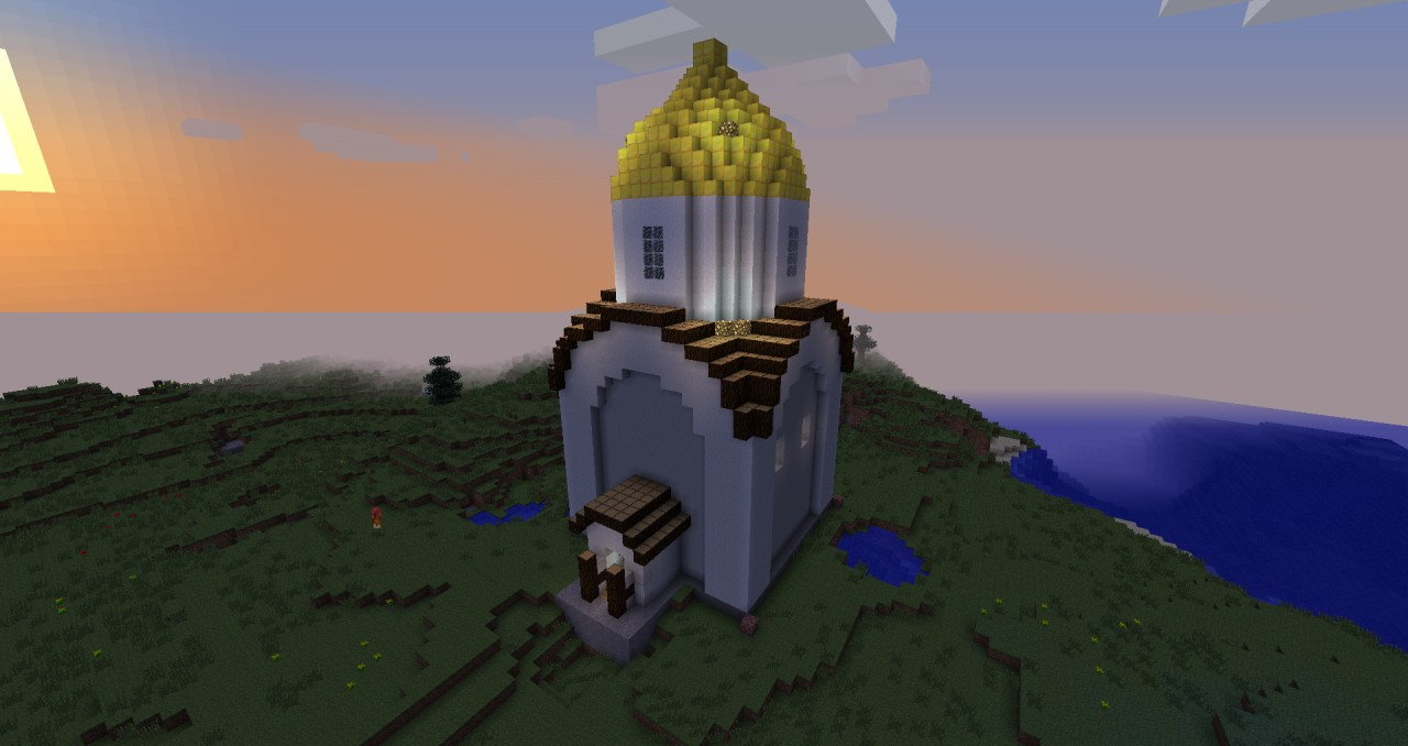 orthodox church minecraft project