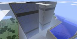 Twin Towers (With World Save) Minecraft Map & Project