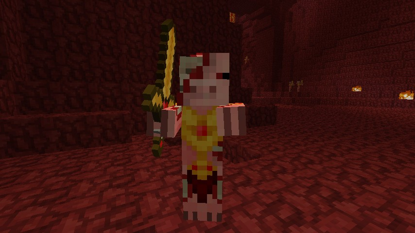 That's some shiny armor you got there Mr. Zombie Pigman