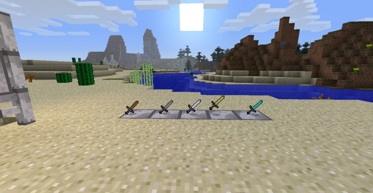 Titanium Enforced Swords