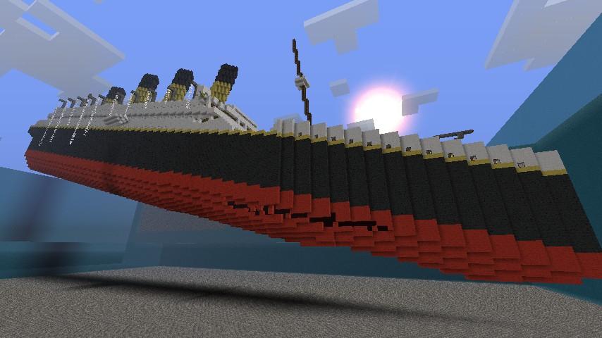 карты для майнкрафт пе корабль #6